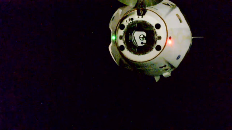 Photo of Dragonship Endeavour is flying free, on its way back to Earth