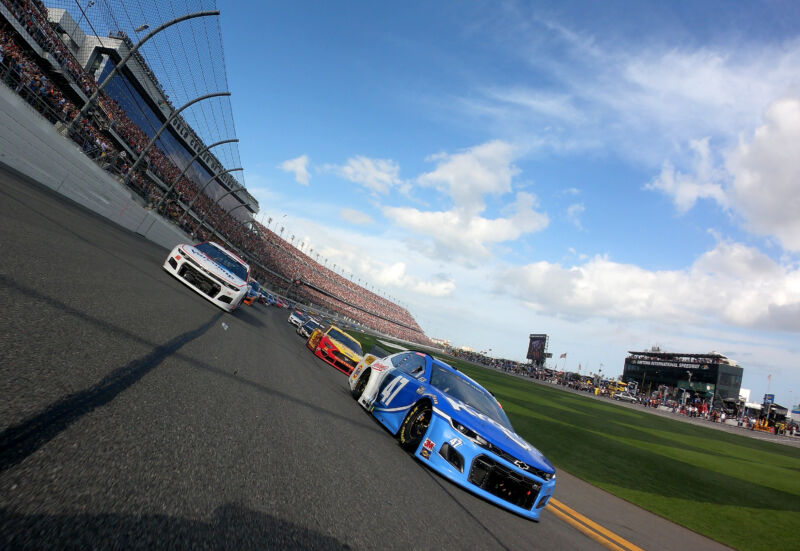 Photo of NASCAR had to tweak the Daytona road course for stock cars—heres why