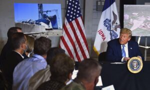 Photo of Trump Offers Iowa Full Support of Federal Government After Devastating Storm