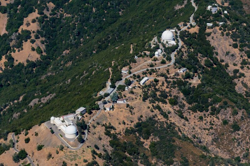 Photo of A California wildfire nearly destroyed the historic Lick observatory