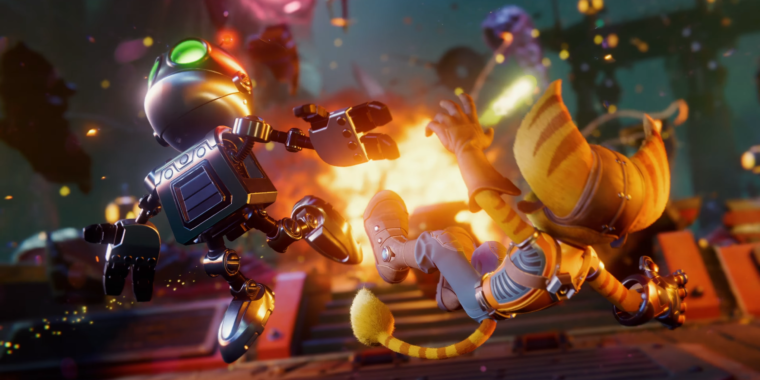 Photo of Incredible Ratchet & Clank gameplay demo reveals PS5s SSD difference