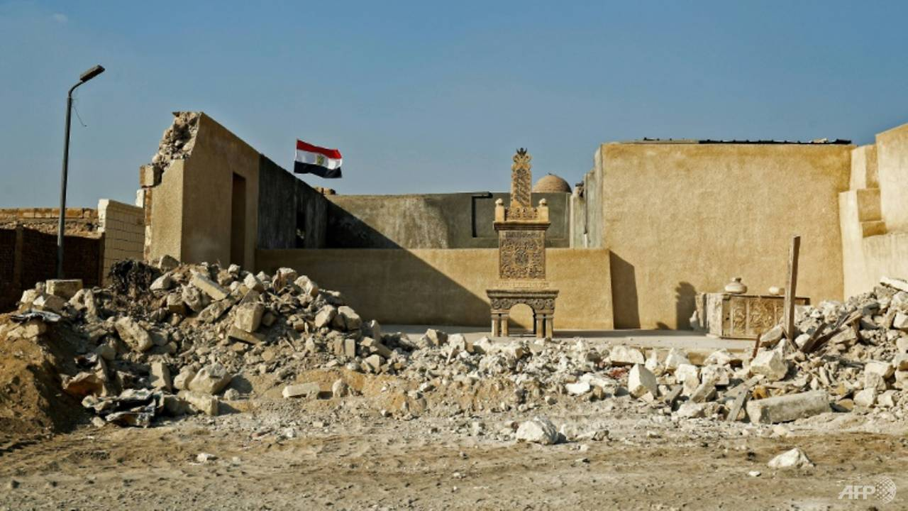 Photo of Egypt highway uproots graves, homes in 'City of Dead'