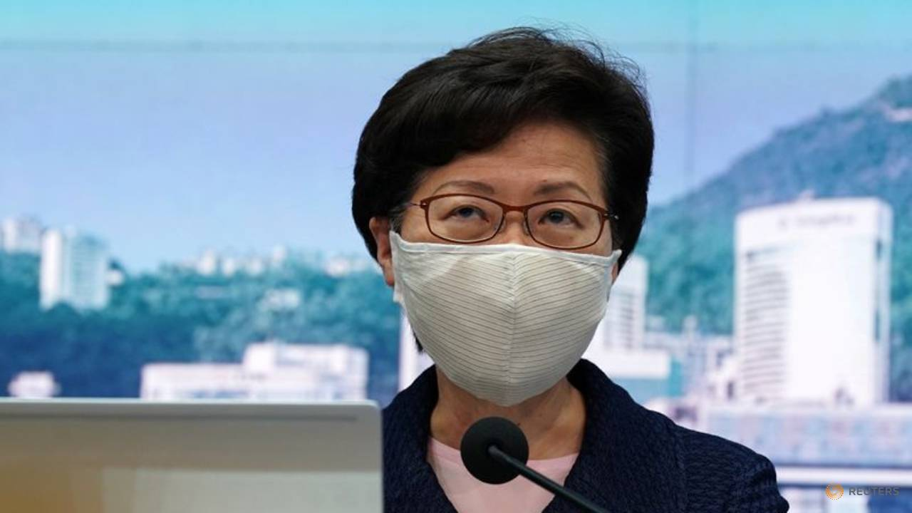 Photo of US blacklists Hong Kong leader Carrie Lam, other officials