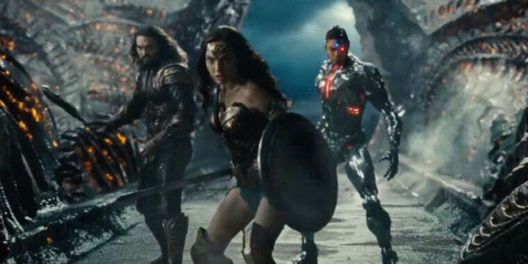 Photo of HBO Max drops first trailer for Zack Snyders Justice League