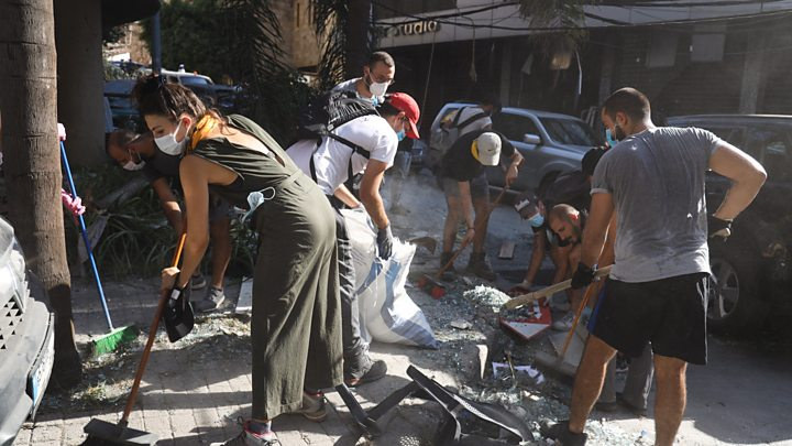 Photo of Beirut explosion: Angry residents demand answers after blast