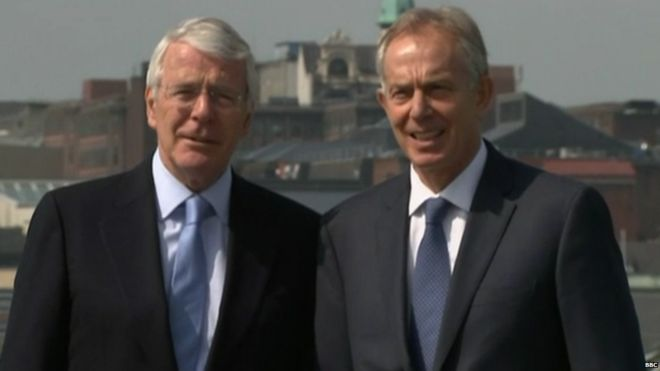 Photo of Brexit: Blair and Major urge MPs to reject Internal Market Bill