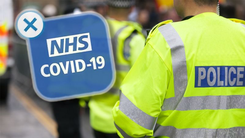 Photo of Coronavirus: Police to be told they can use NHS Covid-19 app
