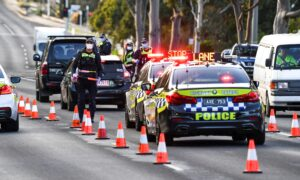 Photo of Woman Charged After Resisting Arrest at Victoria COVID-19 Checkpoint