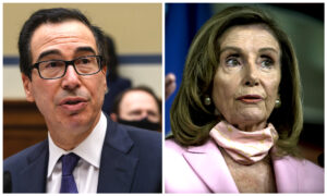 Photo of Pelosi, Mnuchin Again Speak About Stimulus Bill: Our Conversation Was a Positive One