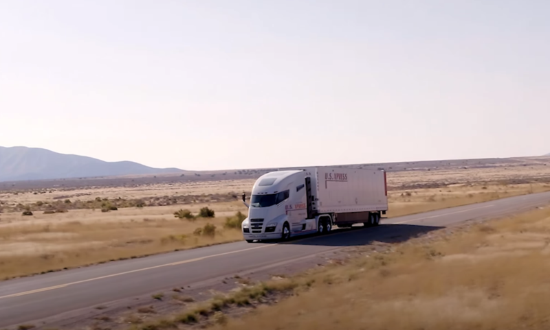 Photo of Nikola admits prototype was rolling downhill in promotional video