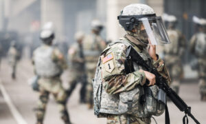 Photo of National Guard Deployed for Protests in Cleveland Ahead Presidential Debate