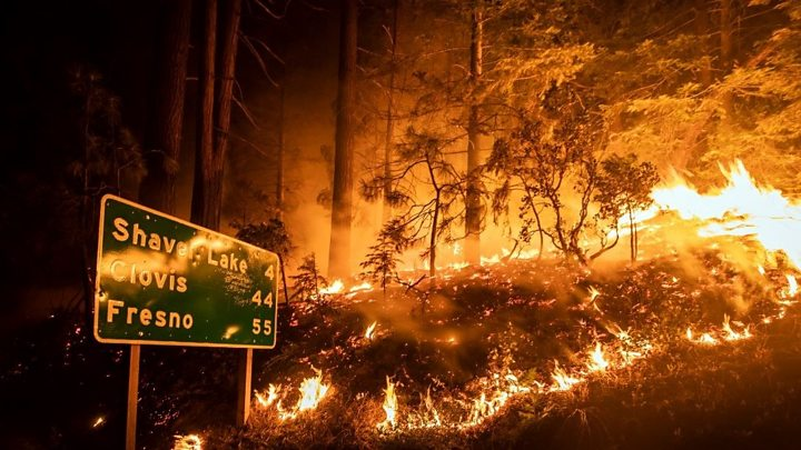Photo of California wildfires: Hikers rescued as blazes rage
