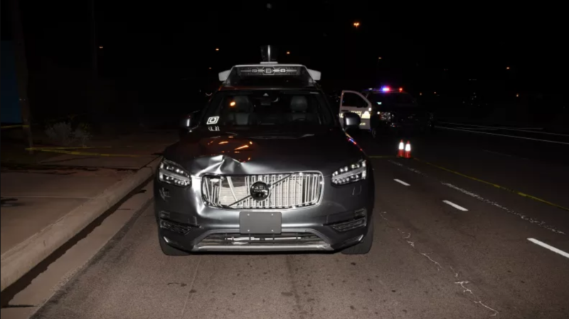 Photo of Safety driver in 2018 Uber crash is charged with negligent homicide
