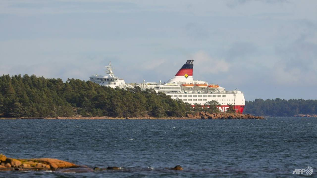 Photo of Finnish cruise ship evacuated after running aground in Baltic sea