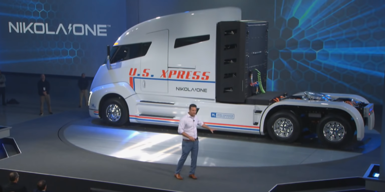 Photo of Nikola patented a stolen truck design, Tesla claims in legal response