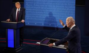 Photo of Biden Refuses to Say Whether Hed End Filibuster or Pack SCOTUS During Debate