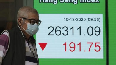 Photo of Asian Stocks Mixed After Wall St Falls On Virus Pressure