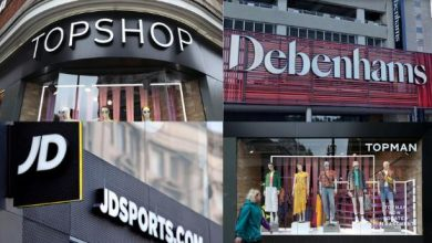 Photo of Debenhams set to shut putting 12,000 jobs at risk after Arcadia collapse