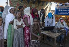 Photo of UN camp in Sudan registers new Tigrayan refugees