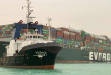 Photo of Suez Canal: Owner of cargo ship blocking waterway apologises