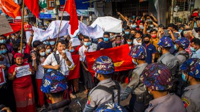Photo of 'The police just shot': the terror inflicted on Myanmar's protesters