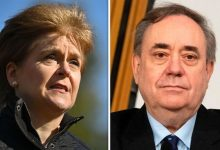 Photo of Nicola Sturgeon sparks new feud with Alex Salmond: FM vows to ignore plea for help