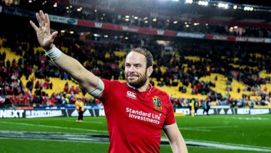 Photo of Lions captain Alun Wyn Jones feels hand of history on his shoulder