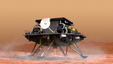 Photo of China releases videos of its Zhurong Mars rover