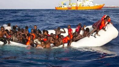 Photo of Charity ships rescue 450 migrants from sinking wooden boat in Mediterranean