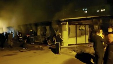 Photo of North Macedonia: Deadly fire guts Covid hospital